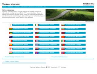 toerismeverkeersbureaus.nl screenshot