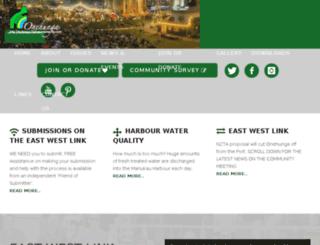 toesociety.org.nz screenshot