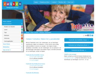 toetssite.nl screenshot