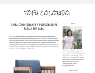 tofucolorido.blogspot.com.br screenshot