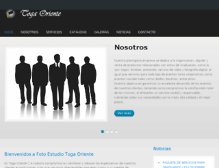 togaoriente.com.ve screenshot