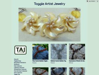 toggleartistjewelry.storenvy.com screenshot
