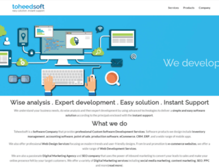 toheedsoft.com screenshot