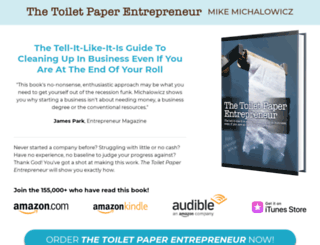 toiletpaperentrepreneur.com screenshot