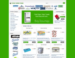 toiletpapertissue.com screenshot