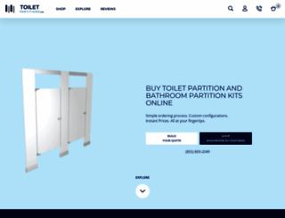 toiletpartitions.com screenshot