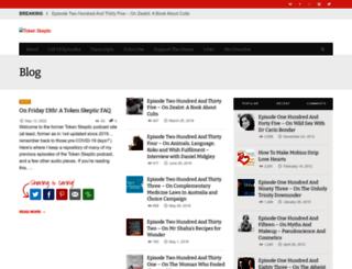tokenskeptic.org screenshot