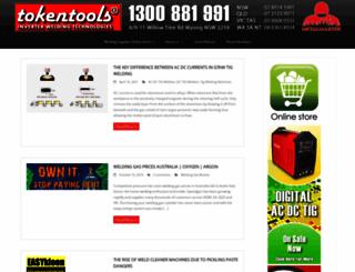 tokentools.com.au screenshot