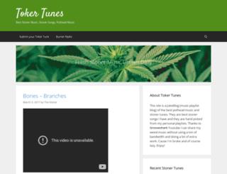 tokertunes.com screenshot