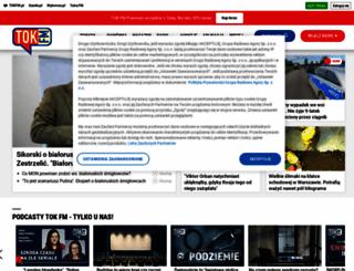 tokfm.pl screenshot