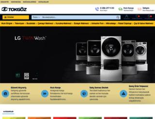 tokgozticaret.com.tr screenshot