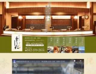 tokinoirodori.com screenshot