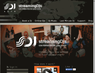 tokio.discjockey24.com screenshot