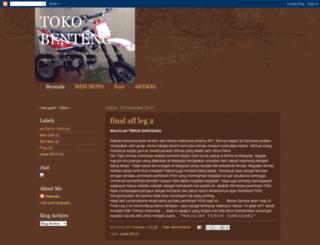 toko-benteng.blogspot.com screenshot
