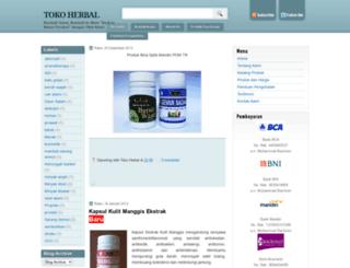 toko-herbal.blogspot.com screenshot