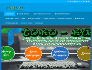 toko-ku.esy.es screenshot