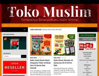 toko-muslim.com screenshot