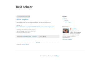 toko-selular.blogspot.com screenshot
