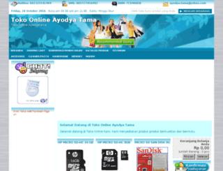 toko.ayodyatama.com screenshot