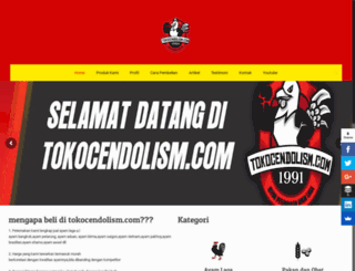tokocendolism.com screenshot