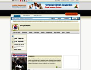 tokoglu_emlak.rehberalem.com screenshot