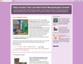 tokojualobatjerawat.blogspot.com screenshot
