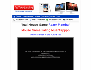 tokolanding.virtarichtheme.com screenshot