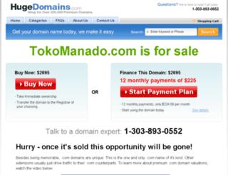 tokomanado.com screenshot