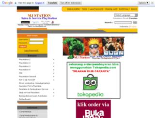 tokomjstation.com screenshot