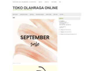 tokoolahragaonline.com screenshot
