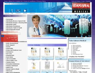 tokosakura.com screenshot
