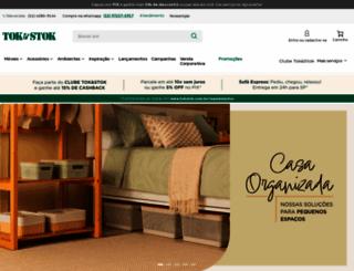 tokstok.com.br screenshot