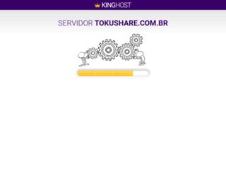 tokushare.com.br screenshot