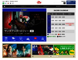 tokyocitykeiba.com screenshot