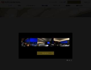 tokyodome-hotels.co.jp screenshot