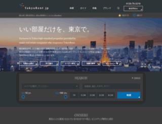 tokyorent.jp screenshot