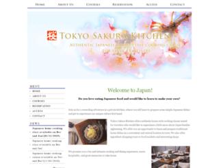 tokyosakurakitchen.com screenshot