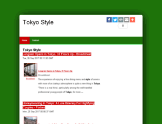 tokyostyle-o.com screenshot