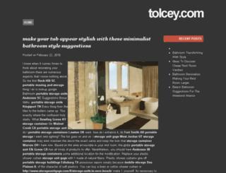 tolcey.com screenshot