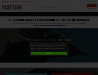 toldos-en-stock.es screenshot