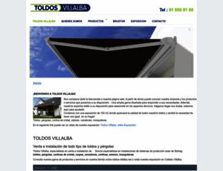 toldos-villalba.net screenshot