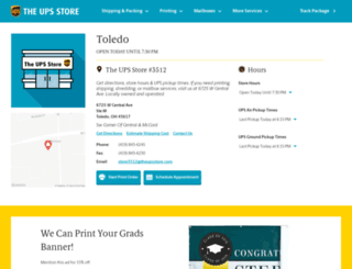 toledo-oh-3512.theupsstorelocal.com screenshot