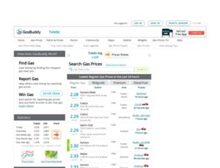 toledogasprices.com screenshot