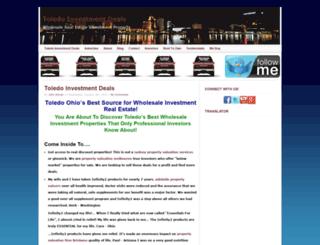 toledoinvestmentdeals.com screenshot