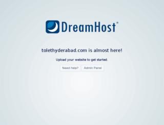 tolethyderabad.com screenshot