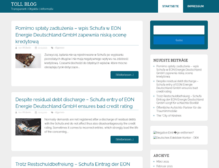 toll-blog.de screenshot