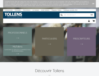 tollens-editeurdecouleurs.com screenshot