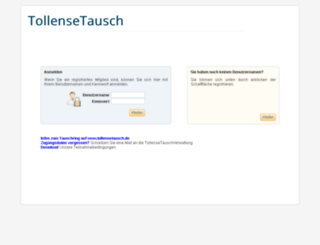 tollensetausch.cyclos-srv.net screenshot