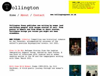 tollingtonpress.co.uk screenshot