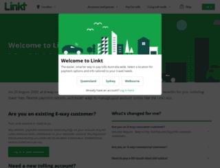tollpay.com.au screenshot
